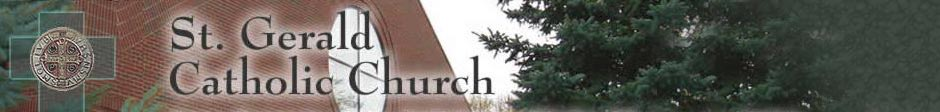 St. Gerald Parish header pix
